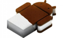 Android ice cream sandwich logi vignette head
