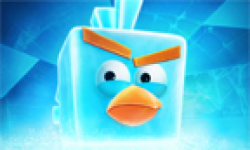 angry birds ice bird vignette head