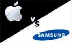 apple samsung logo