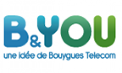 b and you logo vignette head