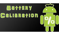 battery calibration android market logo