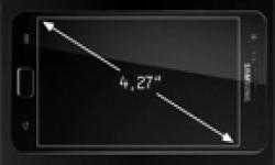 diagonale ecran samsung galaxy s ii s2 vignette head