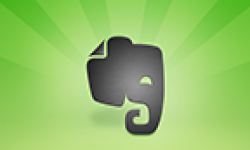evernote logo vignette head