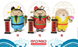 figurines android bugdroid nouvel an chinois 2012 annee dragon vignette head
