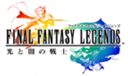final fantasy legends logo vignette head