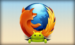 Firefox Android Bugdroid vignette
