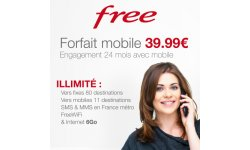 free forfait mobile 39 99 euros engagement subvention vente privee