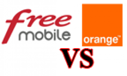 free mobile orange vignette head