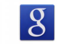 google search logo vignette head