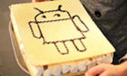 Huge Ice cream sandwich android vignette head