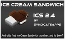 ice scream sandwich laucher icone