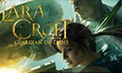 lara croft guardian of light vignette head
