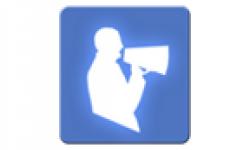 logo shoutcaster vignette head