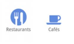 raccourcis accueil google restaurants cafes