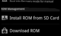 Rom manager logo