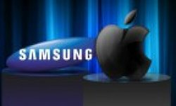 Samsung apple logo vignette head