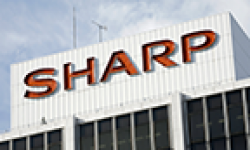 sharp logo vignette head