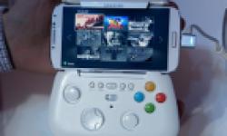 Vignette head Samsung Galaxy S IV prototype manette