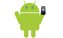 vignette icone head android dollar