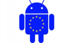 vignette icone head android drapeau europe