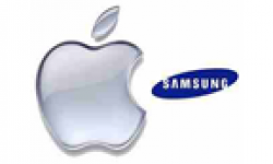 vignette icone head logo apple samsung