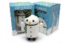 vignette icone head photo android figurine snowman